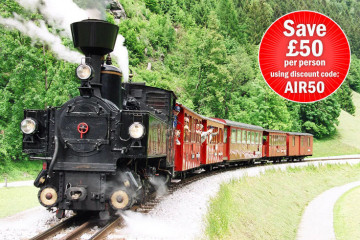 Trains of the Austrian Tyrol Holiday