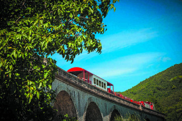 Red Train of the Pyrenees Holiday