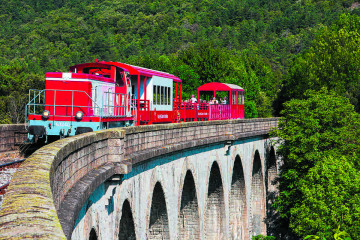 Red Train Pyrenees Holiday