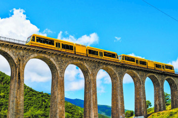Yellow Train Of the Pyrenees Holiday