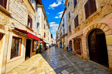 Porec Old Town - Mistral Holidays Croatia Istrian Riviera