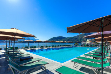 Britannia Cadenabbia Hotel Swimming Pool Mistral Holidays Lake Como Holiday