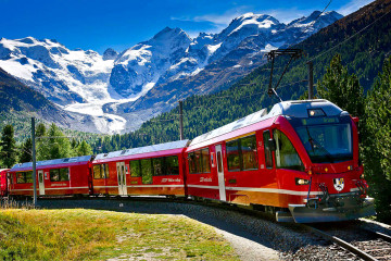 Holidays to Lake Como and  the Bernina Express Railway Mistral Holidays