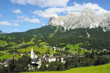 Cortina in the Dolomites, Venetian Riviera Holiday to Italy